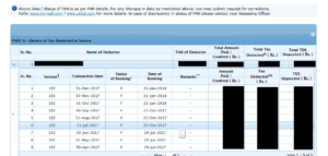 Match the details of your Form 26AS and salary slip